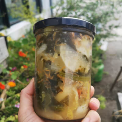 """Bán Chi""  White Kimchi"