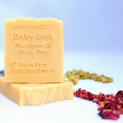 Zerowaste Baby Soft Shampoo/Body/Shaving Bar
