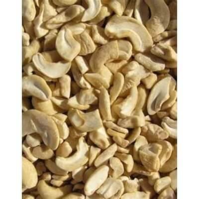 Organic Cashews Pieces -250Gr In Paper Bag