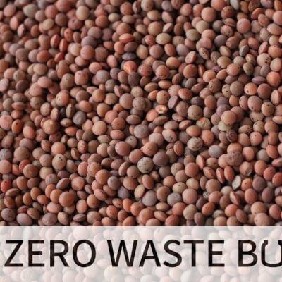 Organic Brown Lentils - 500Gr In Paper