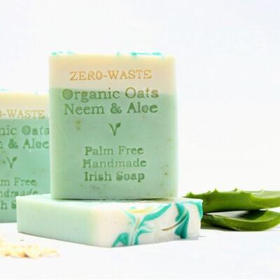 Palm-Free Irish Soap - Organic Oat, Neem & Aloe