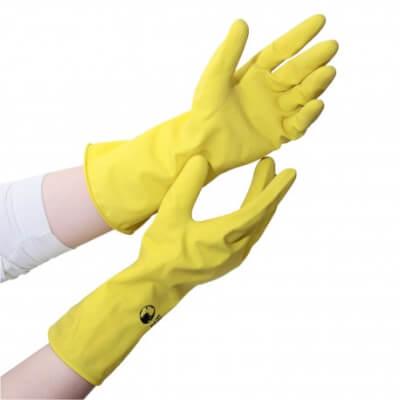 Washingup Gloves, Fairtrade, Natural Latex M