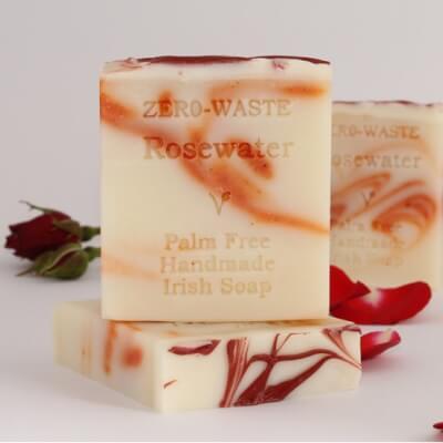 Palm-Free Irish Soap - Rosewater