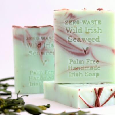 Palm-Free Irish Soap- Mint & Seaweed-