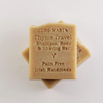 Zerowaste Thyme Travel -Shampoobody&Shaving- Bar