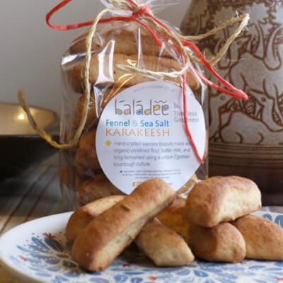 Karakeesh Fennel Sea Salt Savoury Biscuits