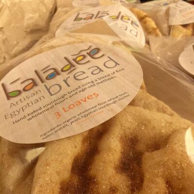 Egyptian Baladee Bread Authentic Sourdough Bread