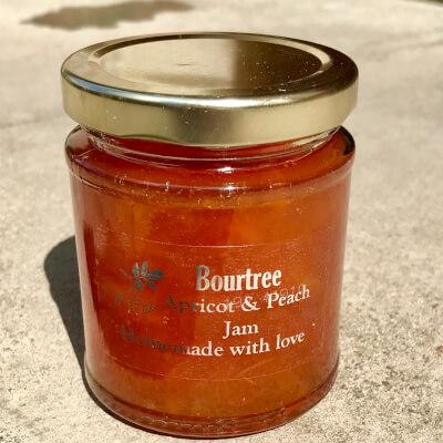 Bourtree Apricot & Peach Jam