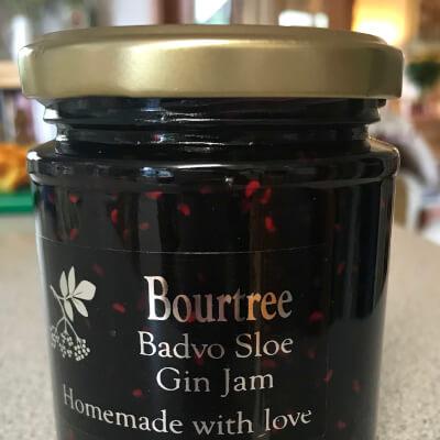Badvo Sloe Gin, Raspberry & Blackcurrant Jam 2 Gold Star Great Taste Award