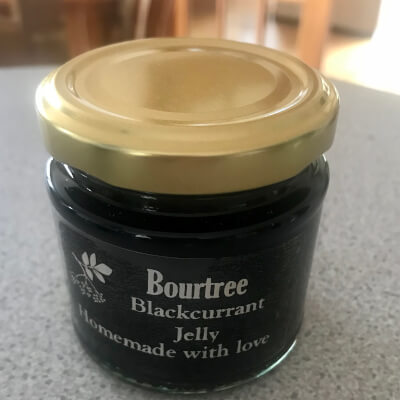 Bourtree Blackcurrant Jelly 140G