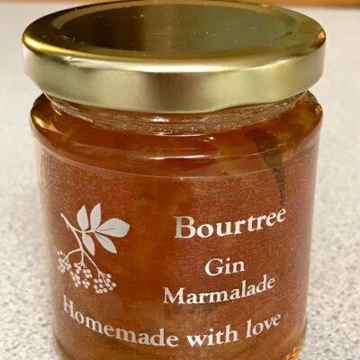 Bourtree Gin Marmalade (World Bronze Award) (1 Gold Star Great Taste)