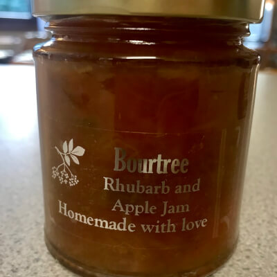 Rhubarb & Apple Jam 227G