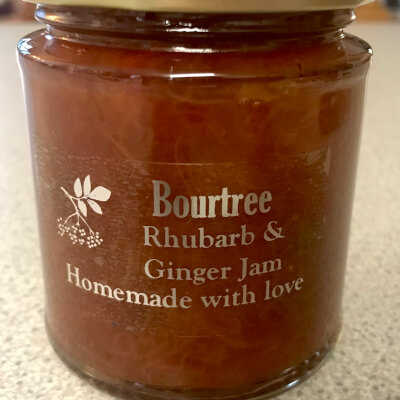 Rhubarb & Ginger Jam 227G