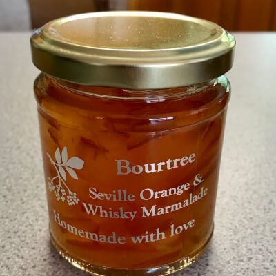 Bourtree Seville Orange & Whisky Marmalade World Silver Award