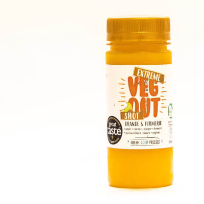 Extreme Veg Out Orange And Tumeric Booster Shot 100Ml*15