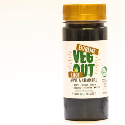 Extreme Veg Out Apple And Charcoal Booster Shot 100Ml*15