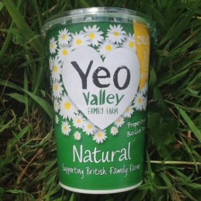Yeo Valley Plain Natural Organic Yogurt