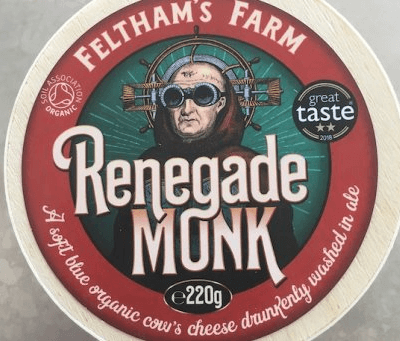 Renegade  Monk Soft Somerset Cheese