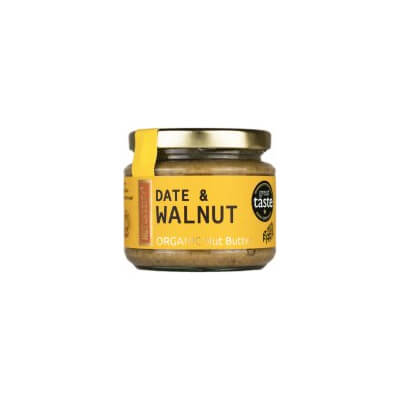 Nutcessity Organic Date And Walnut Nut Butter