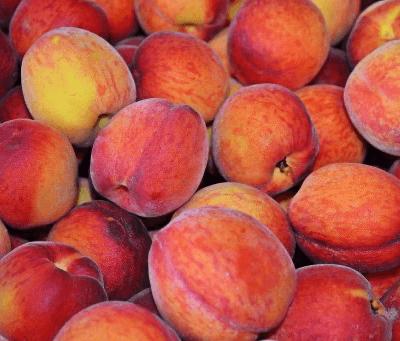 Organic Yellow Peaches From Spain