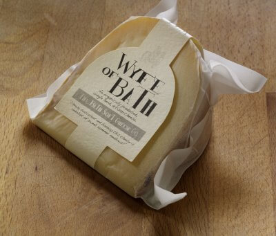 Organic Wyfe Of Bath Cheese