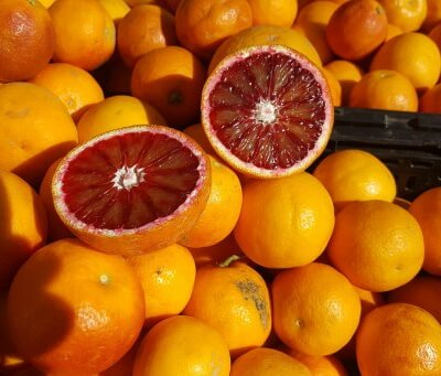Organic Sanguinelli Blood Oranges