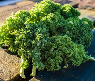 Organic Curly Kale From Somerset