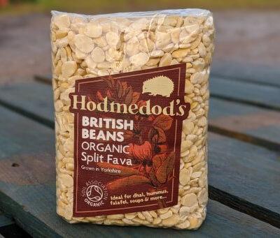 Hodmedod's Organic Split Fava Bean
