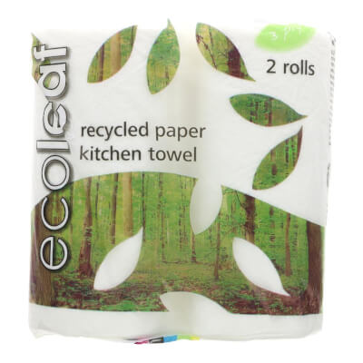 Suma Ecoleaf Kitchen Roll (2 Rolls)