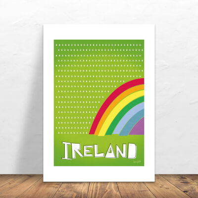 Print Ireland Rainbow