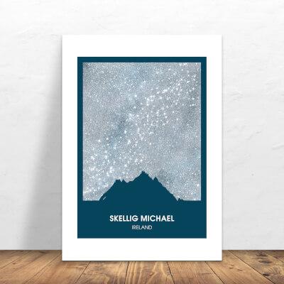 Print Skellig Michael Silver