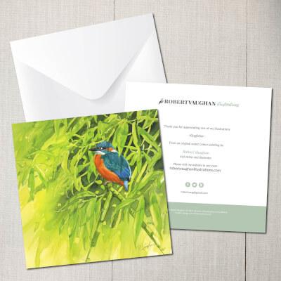 Card Kingfisher