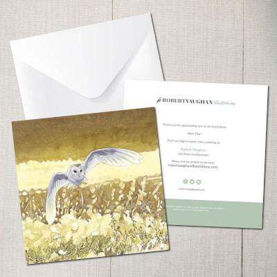 Card Barn Owl