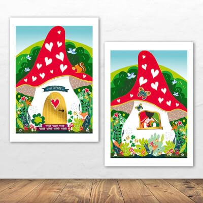 2 Print Gnomes Home