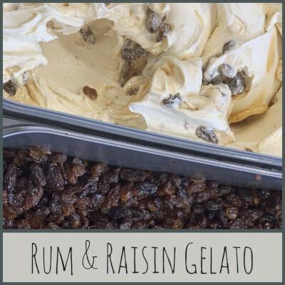 Rum & Raisin Gelato