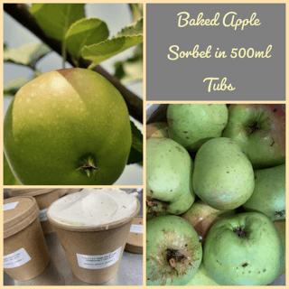 Baked Apple Sorbet