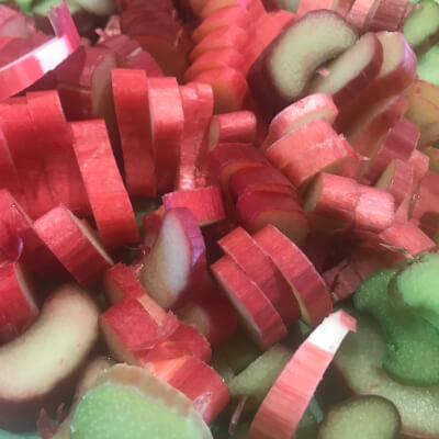 Rhubarb & Ginger Gelato