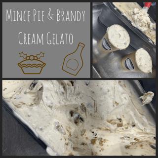 Mince Pie And Brandy Cream Gelato
