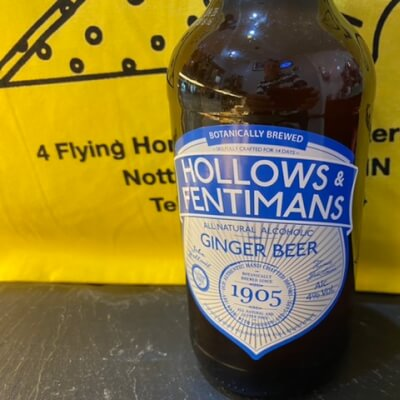 Alcoholic Ginger Beer