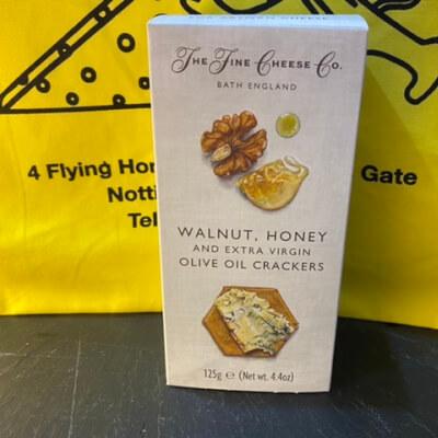 Walnut And Honey Crackers