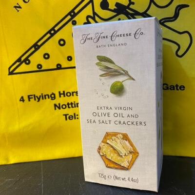 Olive Oil & Sea Salt Crackers