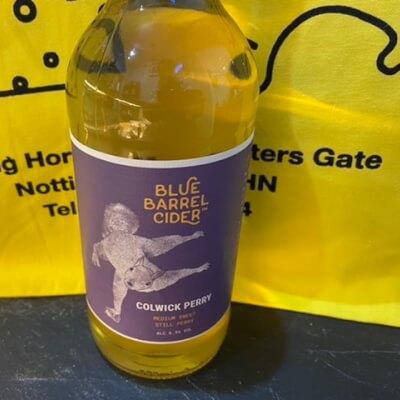 Blue Barrel Cider Colwick Perry  Medium Sweet