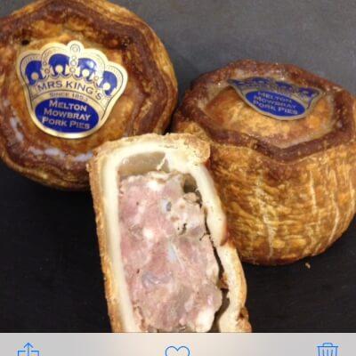 Mrs Kings Melton Mowbray Pork Pie