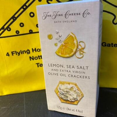 Lemon& Sea Salt Crackers