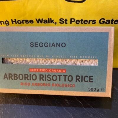 Organic Arborio Risotto Rice