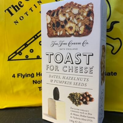Toast For Cheese. Dates, Hazelnuts & Pumpkin Seeds