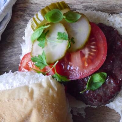 Organic Shetland Beef Burgers