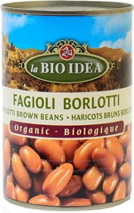 Organic Borlotti Brown Beans