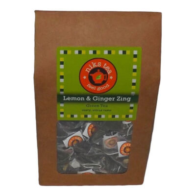Lemon & Ginger Green Tea Tea Bags