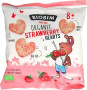 Organic Strawberry Hearts